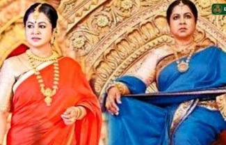 Radhika's next serial officially titled Chandrakumari | First Frame