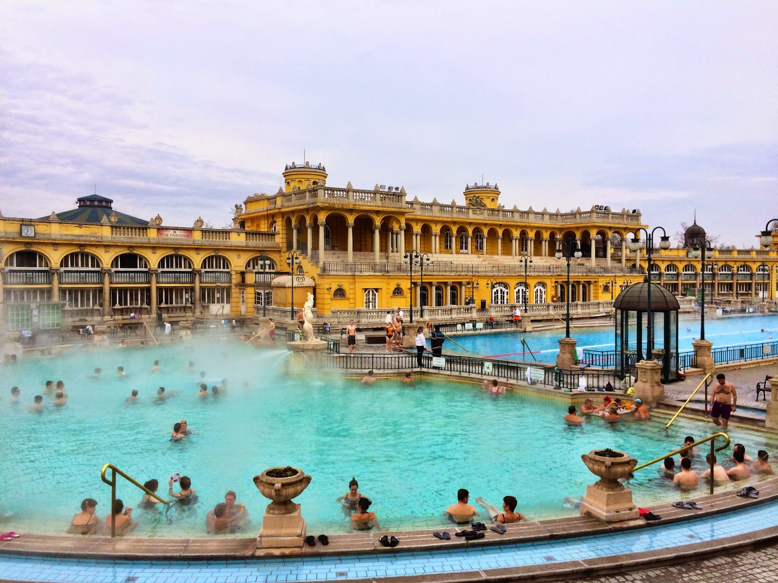 The Széchenyi Thermal Spa Baths, Budapest
