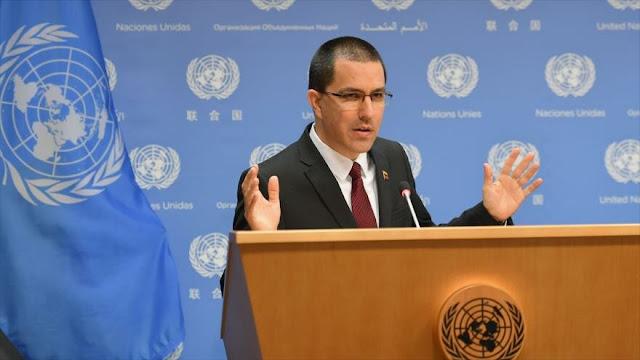 """Venezuela rechaza las """"cínicas y criminales"""" sanciones de EEUU"""