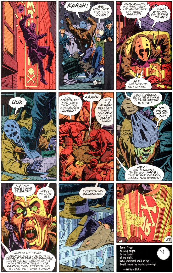 The 9 Panel Grid:Used in WatchmenBy David Gibbons