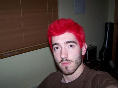 hair men red