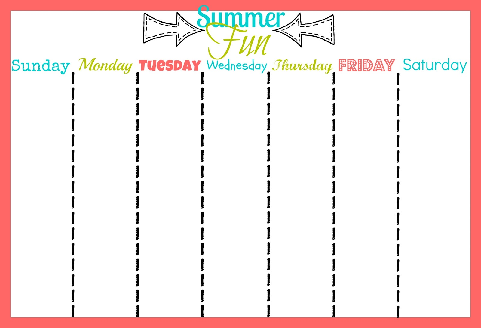 Sassy Sites Summertime Printables