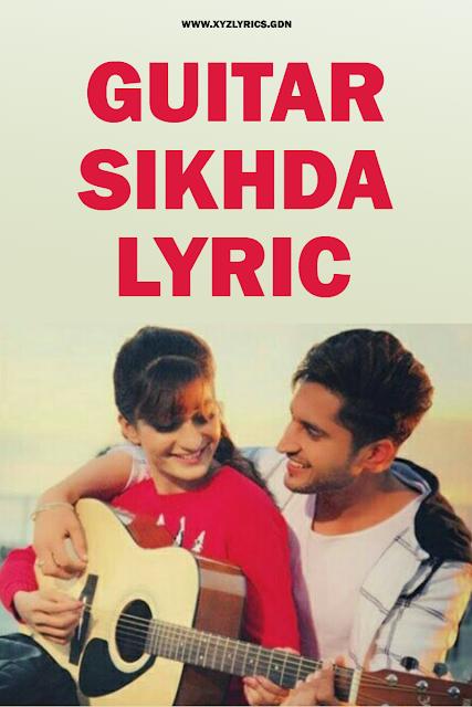 GUITAR SIKHDA SONG LYRIC | Jassi Gill | Jaani | B Praak | Arvindr Khaira | Video