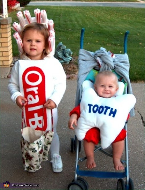 Dentist Tooth Costume Kids