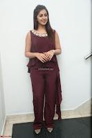 Nikki Galrani in a Brown Shining Sleeveless Gown at Nakshatram music launch ~  Exclusive 071.JPG