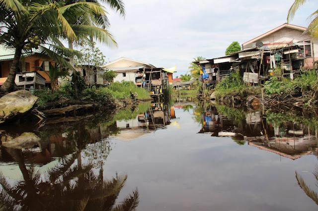 Kampung Suku Melanau, Sungai Rejang, Kampung Telian, Mukah