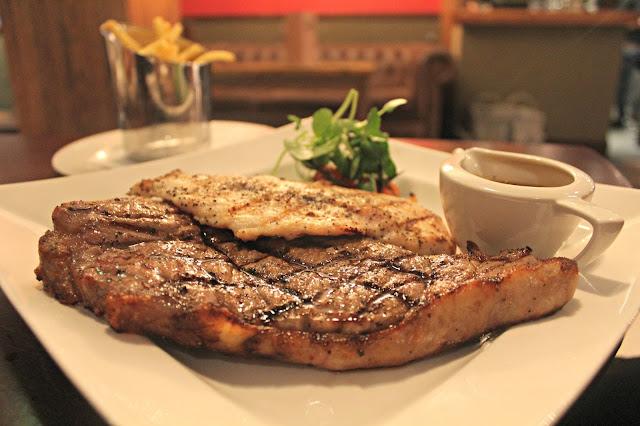 Missoula steak and chicken