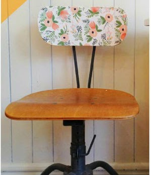 silla escritorio decoupage idea diy