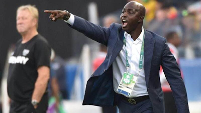 Image result for samson siasia resigns