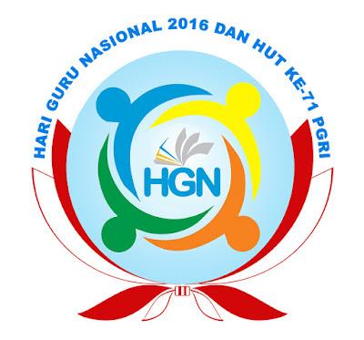 Logo, Tujuan, Sasaran, Tema Hari Guru Nasional 2016 dan HUT Ke-71 PGRI