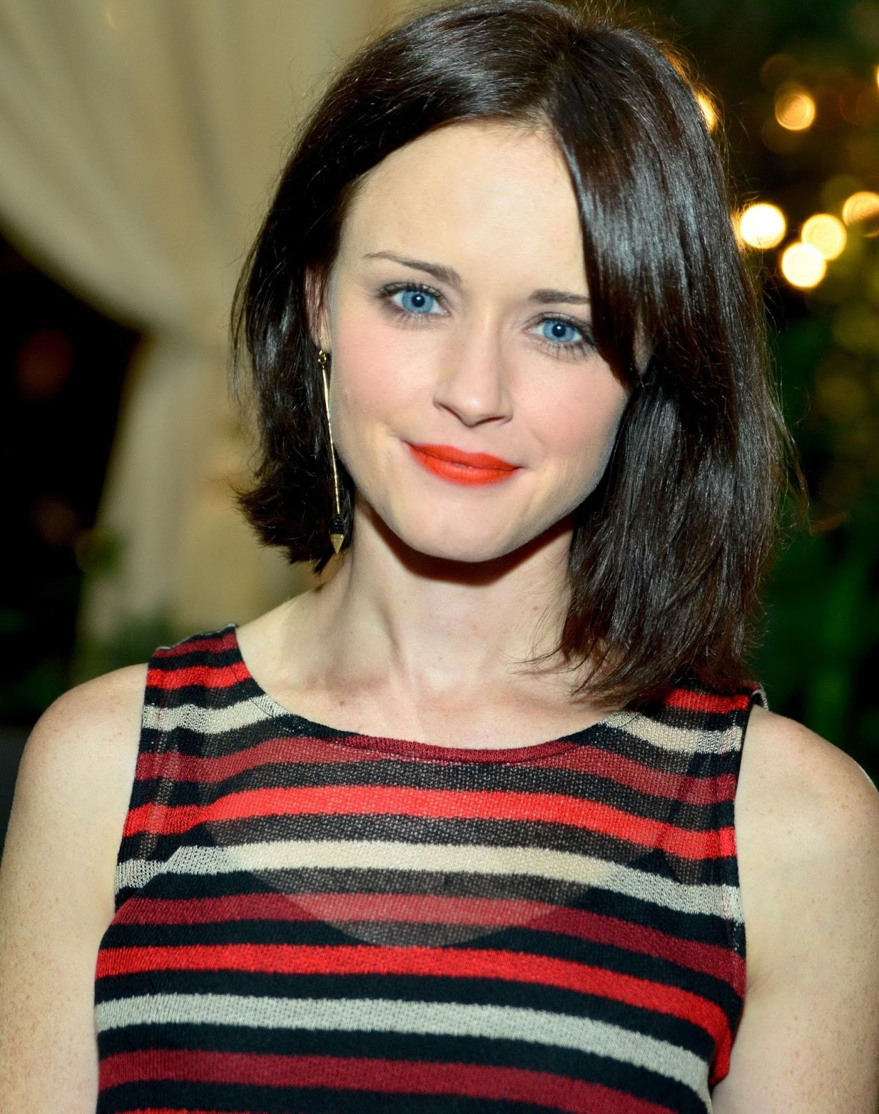ALEXIS BLEDEL at 27th Annual Lucille Lortel Awards in New