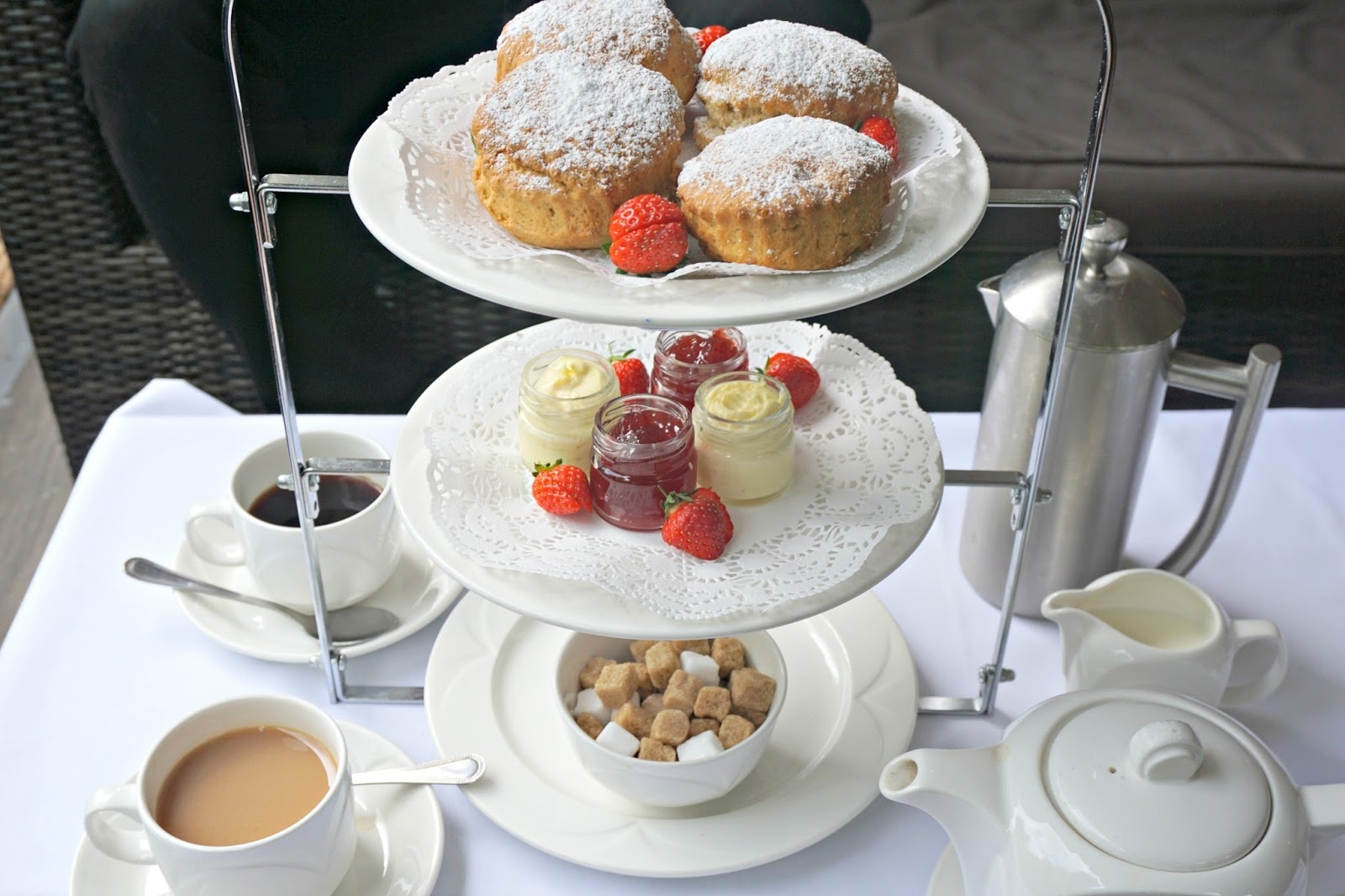 The Milford Hall Hotel Salisbury Wiltshire Stonehenge Amesbury Cream Tea Blog Review