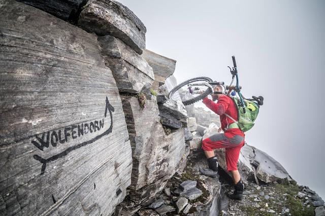 Bikebergsteigen Vertrider Tour Brenner Wolfendorn MTB