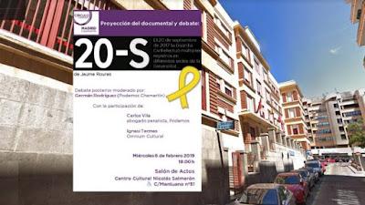 Podemos, Ahora Madrid, cataluña, guardia civil, independentismo