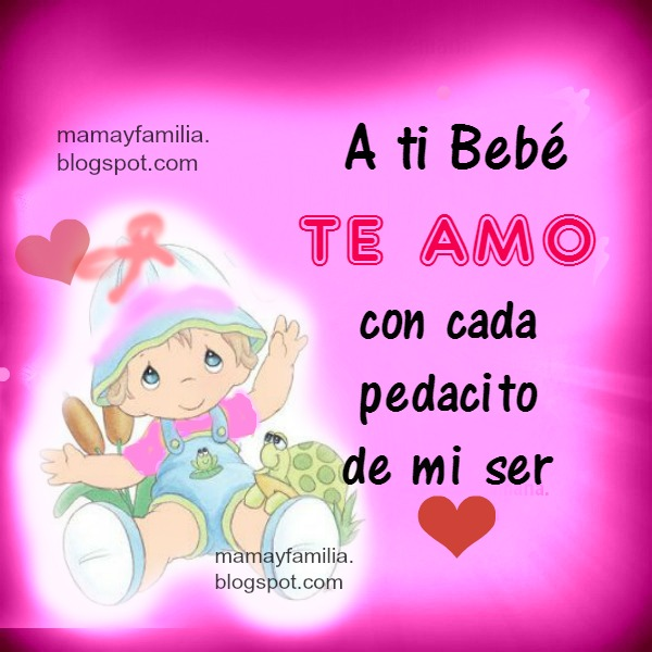 Imagenes De Bebes Con Frases De Amor