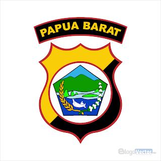 Polda Papua Barat Logo vector (.cdr)