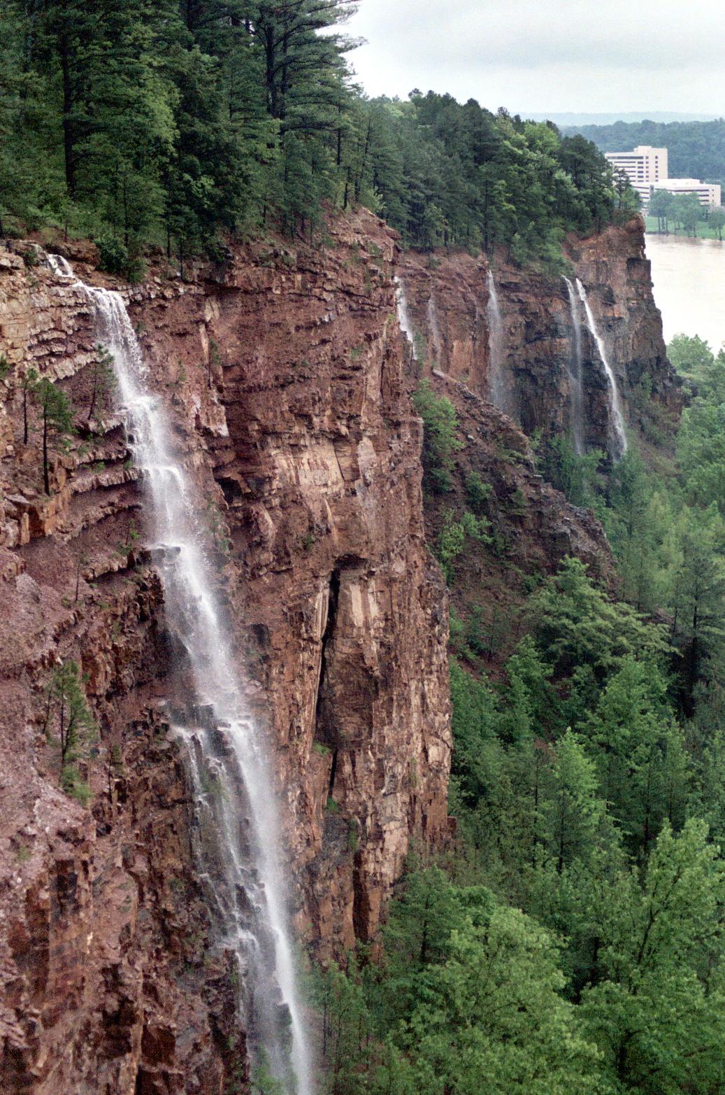Emerald Park Waterfalls North Little Rock Arkansas