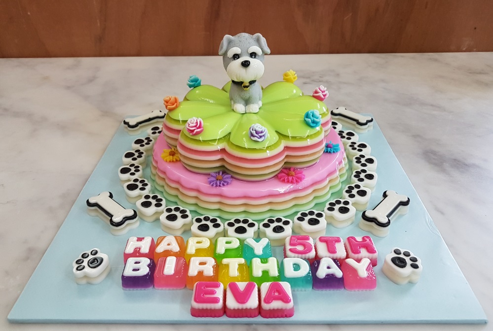 Yochanas Cake Delight Evas 5th Birthday