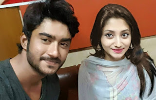 Puja Cherry Roy and Ziaul M R Roshan (Actor)