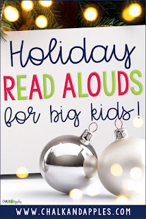 Check out this list of Christmas read aloud books your older students may not have read before!