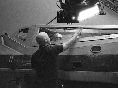 Rian Johnson publica nuevas imágenes del rodaje del 'Episodio VIII'