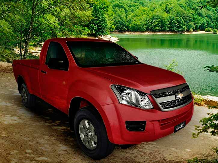Chevrolet D-Max Diesel 4x4 Cabina Simple