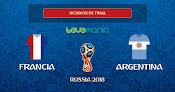 Argentina es eliminada del Mundial. Perdió 4 a 3 contra Francia