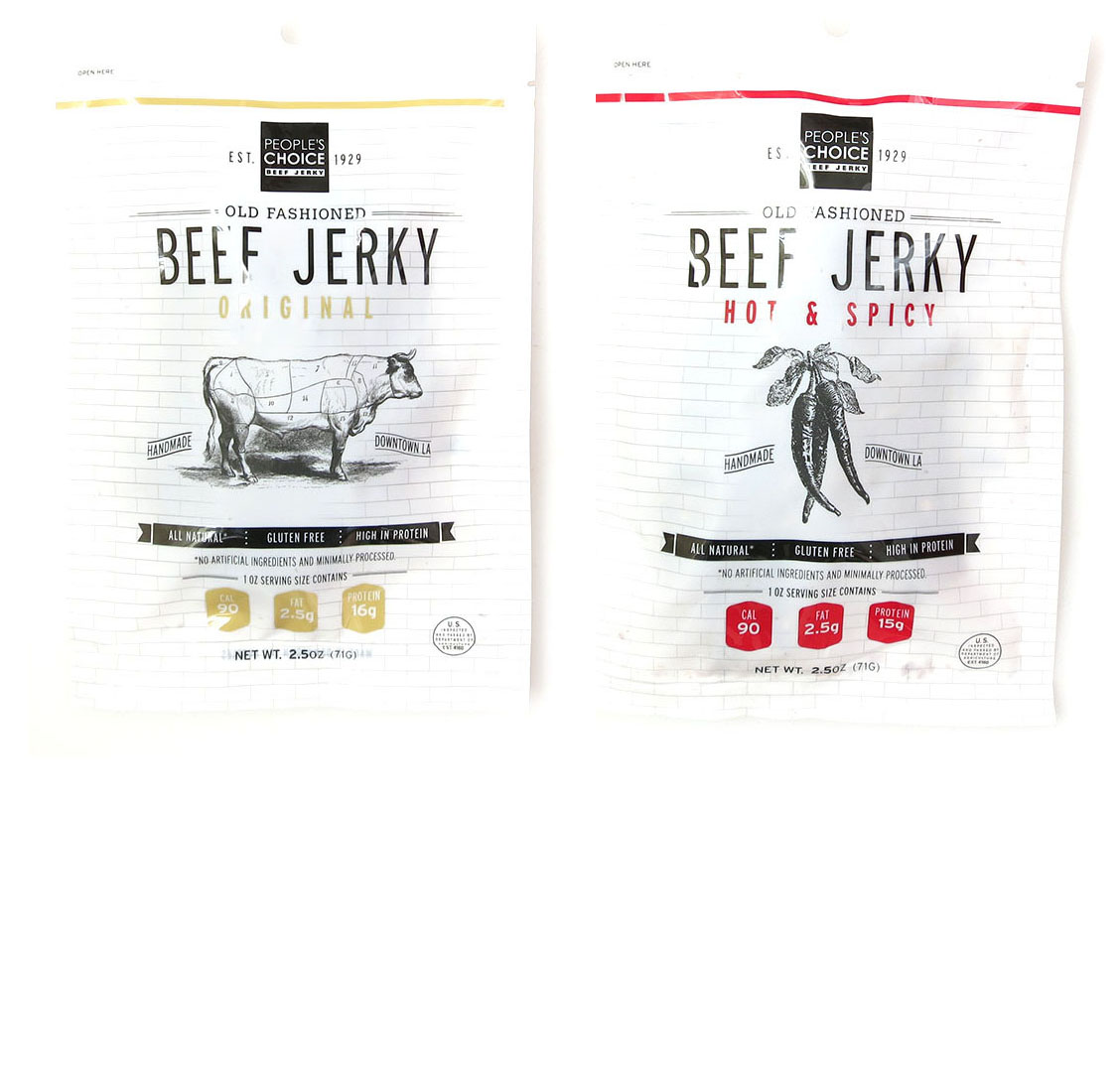 People S Choice Beef Jerky Old Fashioned