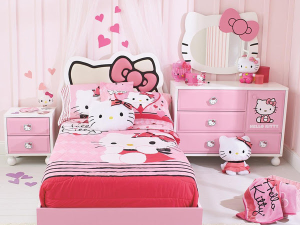 Hello Kitty Bedroom Designs Every Girl Wants To Own