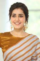 Raashi Khanna Latest Stills during PRP Thanks Meet HeyAndhra.com