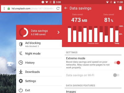 Opera Mini for Windows Phone Features