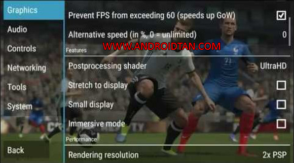 PES Army 2017 PSP PPSSPP ISO Save Data Update Terbaru