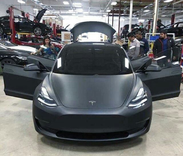 TESLA UPDATES: New pictures of Model 3 emerge after the ...