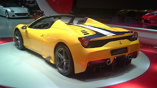 Specifications New Ferrari 458 Spider