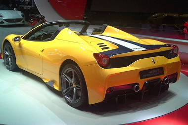 Specifications Price New Ferrari 458 Spider