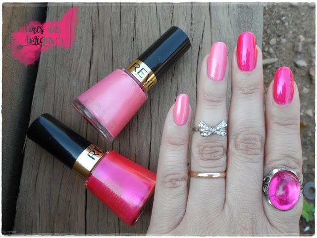 Esmalte Nailpolish Revlon Rosa