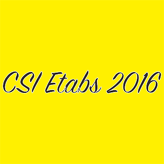 CSI ETABS 2016 16.0.3 Latest Full