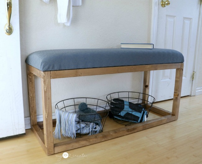 Modern Bench Free Plans At MyLove2Create