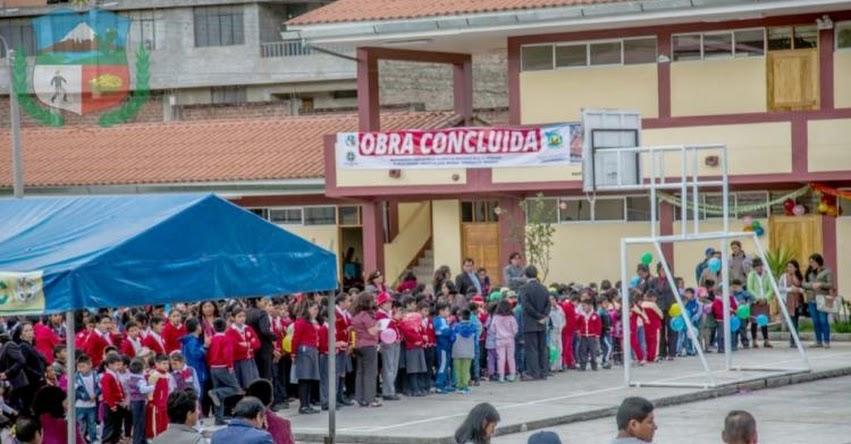 Inauguran moderna infraestructura de Institución Educativa en Talavera - Apurímac