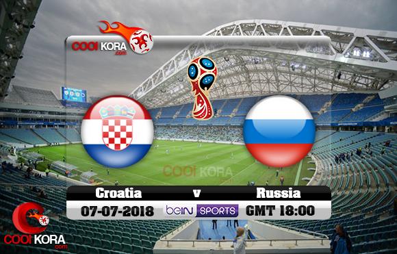 مشاهدة مباراة روسيا وكرواتيا اليوم 7-7-2018 بي أن ماكس كأس العالم 2018