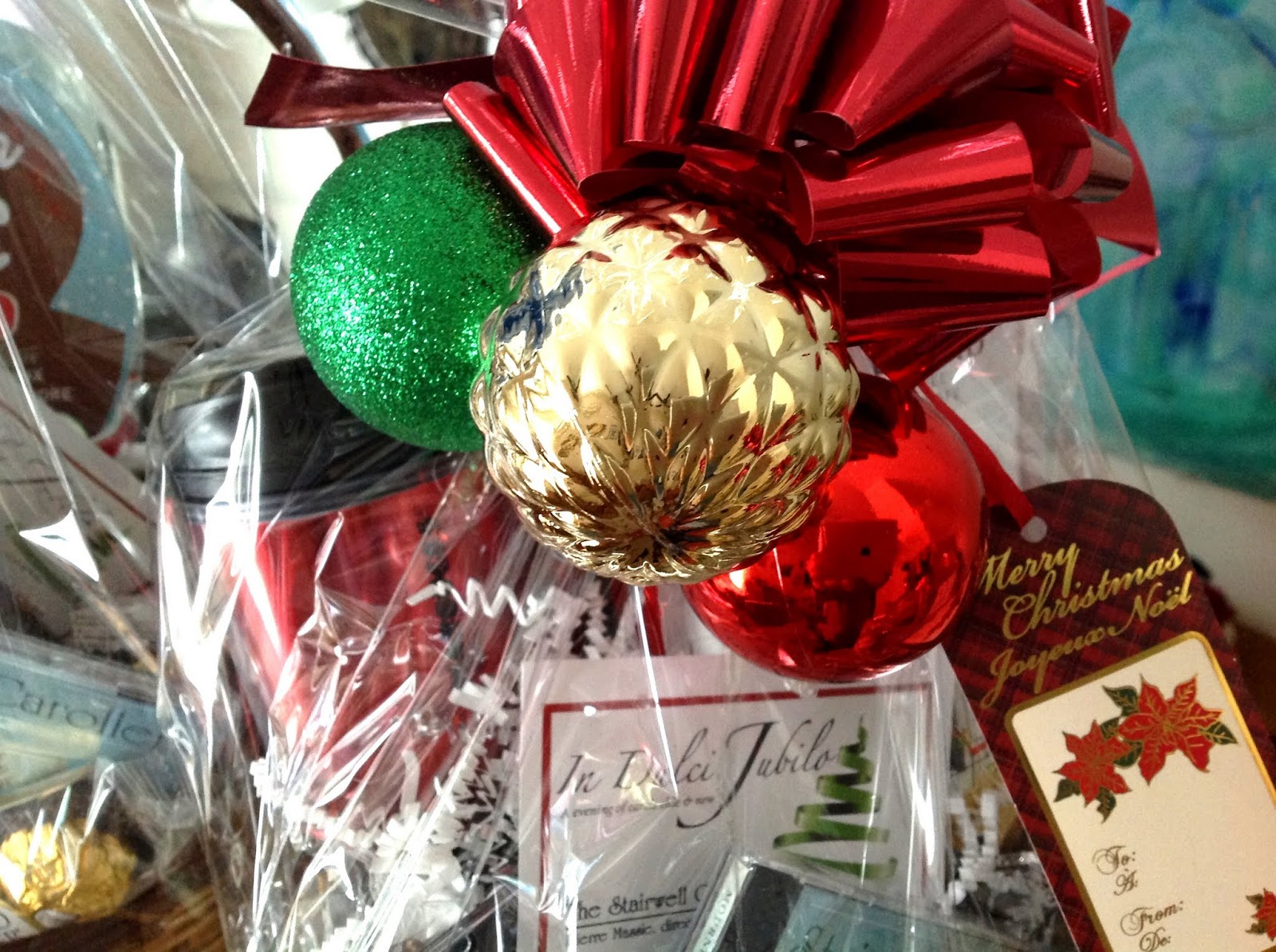 Gift Basket Joy! Generous Local Businesses Stuff Our