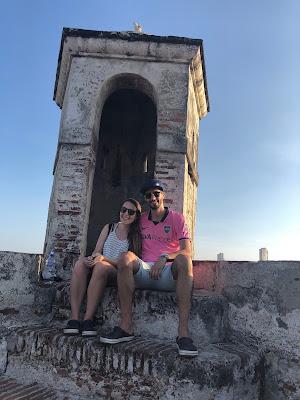 torre en el castillo de san felipe de barajas