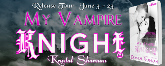 Release Tour for My Vampire Knight by Krystal Shannan