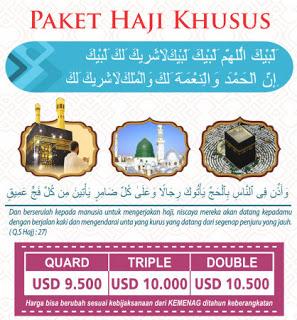 paket haji plus 2018 2019