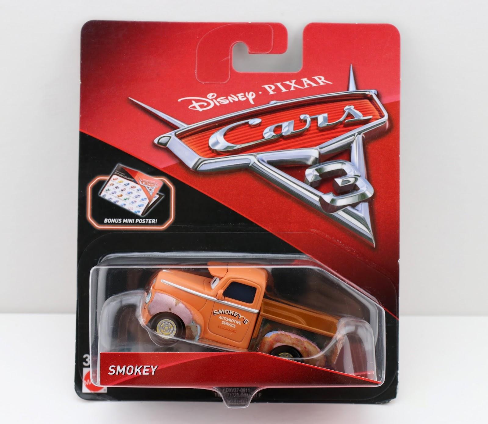 mattel smokey cars 3 diecast
