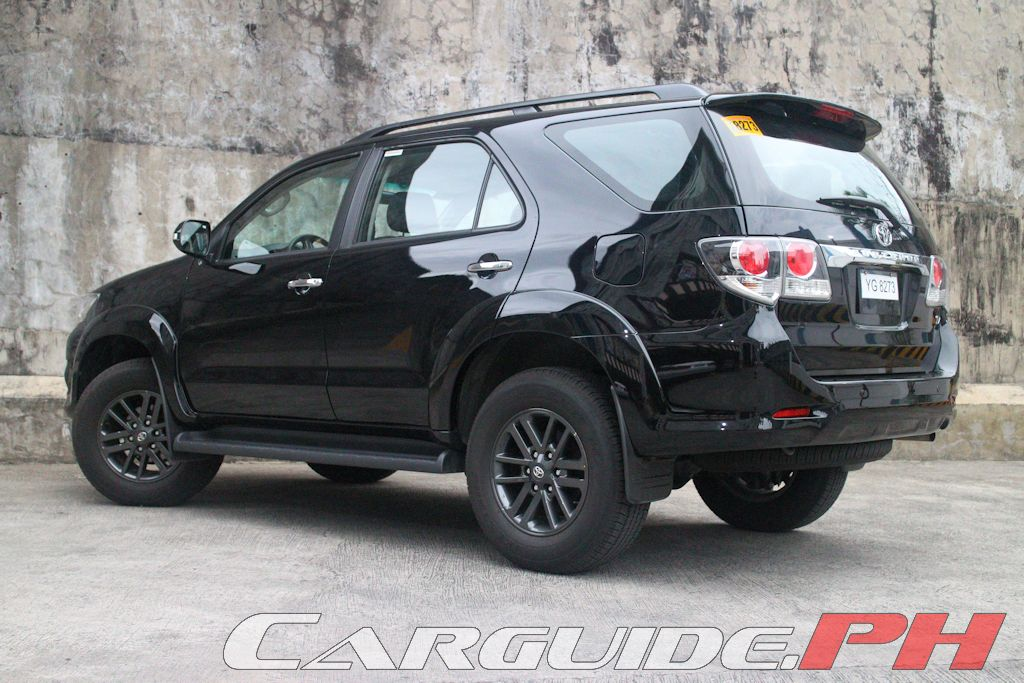 Review 2015 Toyota Fortuner 2 5 V Philippine Car News Car