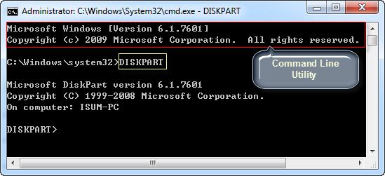 how to unformat a hard drive using cmd