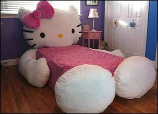 Gambar Ranjang Hello Kitty 1