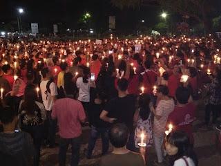 Inilah Alasan Ketua DPRD Karawang Menggelar Nyalakan 1000 Lilin