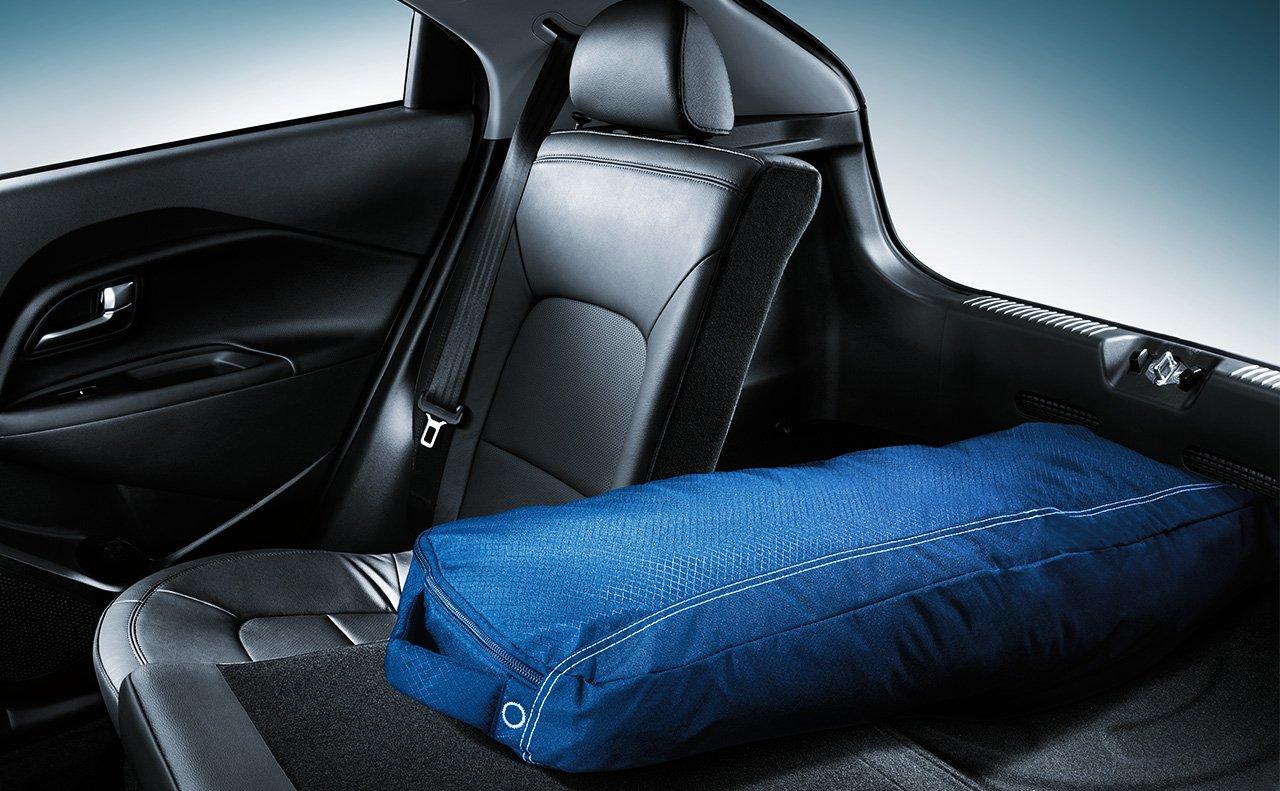 Nếu cần chở đồ nhiều, cần hạ các hàng ghế thứ hai xuống